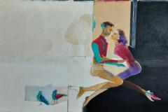 LOVE _ ESHQ (2)  125 X 70  cm